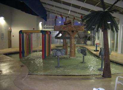 One of Three of The kiddie pool areas